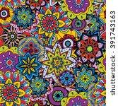 seamless pattern texture.... | Shutterstock .eps vector #391743163