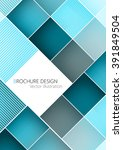 business brochure cover design... | Shutterstock .eps vector #391849504