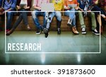 research information knowledge... | Shutterstock . vector #391873600
