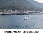 ketchikan  alaska   may 18 ... | Shutterstock . vector #391888000