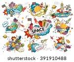 cartoon vector illustration of... | Shutterstock .eps vector #391910488