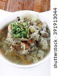 hot fresh diet vegetable soup...