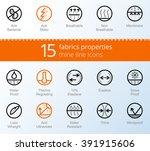 waterproof  sun protection wind ... | Shutterstock .eps vector #391915606