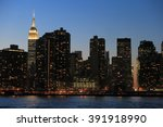 new york  ny  usa dec 16 ... | Shutterstock . vector #391918990