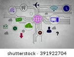 user interface | Shutterstock . vector #391922704
