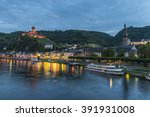 cochem  mosel river  germany at ...   Shutterstock . vector #391931008