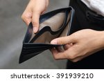Closeup On A Businessman With...