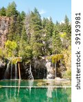 Hanging Lake  Fallen Trees And...