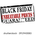 rubber stamp with text black... | Shutterstock .eps vector #391943083