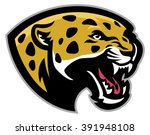 angry leopard mascot   Shutterstock .eps vector #391948108