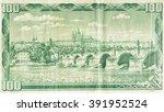 czech republic 100 korun  1961... | Shutterstock . vector #391952524