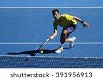 melbourne  australia   january... | Shutterstock . vector #391956913