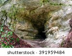 Cave Entrance In The Rock
