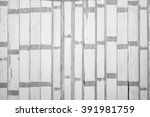 old plank wall for background.  ...   Shutterstock . vector #391981759