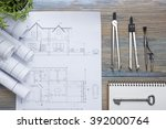real estate concept.... | Shutterstock . vector #392000764