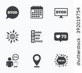 calendar  like counter and go...   Shutterstock .eps vector #392019754