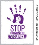 Stop Domestic Violence Stamp....
