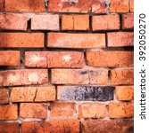 old brick wall.   Shutterstock . vector #392050270