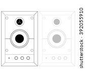 audio icon | Shutterstock . vector #392055910