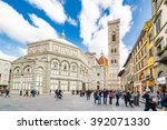 Cathedral And Baptistery In...