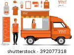 truck shop.vector   Shutterstock .eps vector #392077318