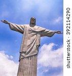 rio de janeiro  brazil  ... | Shutterstock . vector #392114290