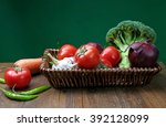 a variety of vegetables in the...