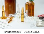 group of medicinal products... | Shutterstock . vector #392152366