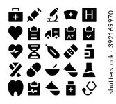 health vector icons 1 | Shutterstock .eps vector #392169970