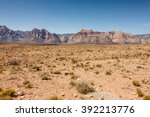 red rock canyon national park | Shutterstock . vector #392213776