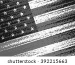 abstract american flag | Shutterstock . vector #392215663