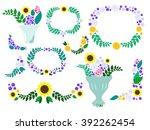 Summer Flower Wreaths And...