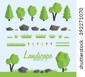 Landscape Constructor Icons Se...