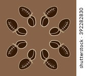 circular pattern  doodles ... | Shutterstock .eps vector #392282830