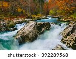 amazing view of the river... | Shutterstock . vector #392289568
