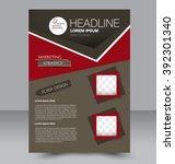 abstract flyer design... | Shutterstock .eps vector #392301340