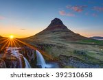 Mount Kirkjufell And The...