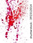 watercolor  drops  splashes ...   Shutterstock .eps vector #392312014