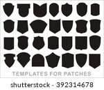 military patch  biker patch | Shutterstock .eps vector #392314678