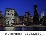 new york  ny  usa dec 16 ... | Shutterstock . vector #392322880