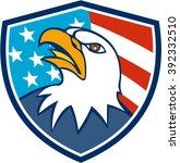 illustration of an american...   Shutterstock .eps vector #392332510