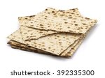 matzoh  the jewish easter bread ... | Shutterstock . vector #392335300