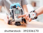new robotics technologies for... | Shutterstock . vector #392336170