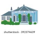an image of old grabber house   Shutterstock .eps vector #392374639