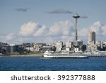 Seattle Waterfront. A Ferryboa...