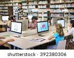 classroom classmate insight...   Shutterstock . vector #392380306