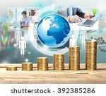 money. | Shutterstock . vector #392385286