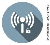 wifi icon   Shutterstock .eps vector #392417950