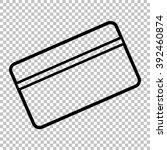 credit card symbol for download....   Shutterstock .eps vector #392460874