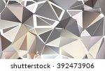 randomly scattered triangles of ... | Shutterstock .eps vector #392473906
